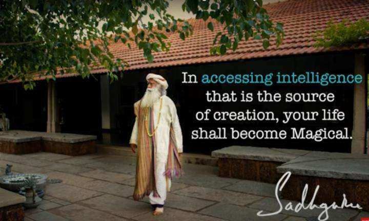 Sadhguru Wisdom Video | Daily Wisdom | The Most Significant Aspects About The Source Of Creation is Intelligence