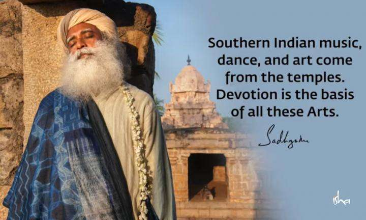 Sadhguru Wisdom Video | Daily Wisdom | Temples As The Heartthrob of Devotion Are Essential To Maintain Indian Arts