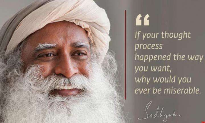 Sadhguru Wisdom Video | Daily Wisdom | Thought Is Your Dream. At Least That Must Happen the Way You Want.