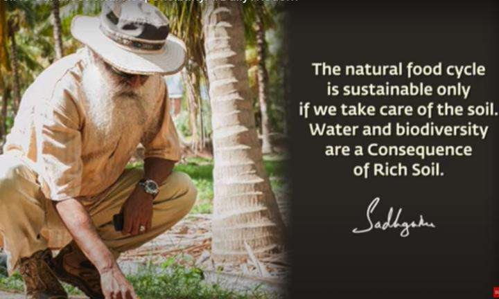 Sadhguru Wisdom Video | Daily Wisdom | Taking Care of Our Topsoil is Our Most Vital Responsibility