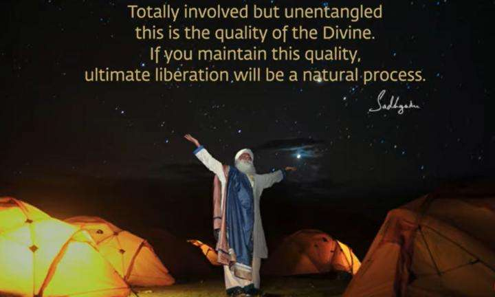 Sadhguru Wisdom Video | Daily Wisdom | If Your Involvement Is Unbridled, There Is No Such Thing As Entanglement.