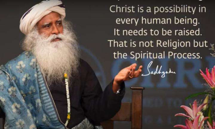 Sadhguru Wisdom Video | The Source of Who We Are Is What Is Being Referred To As Christ.