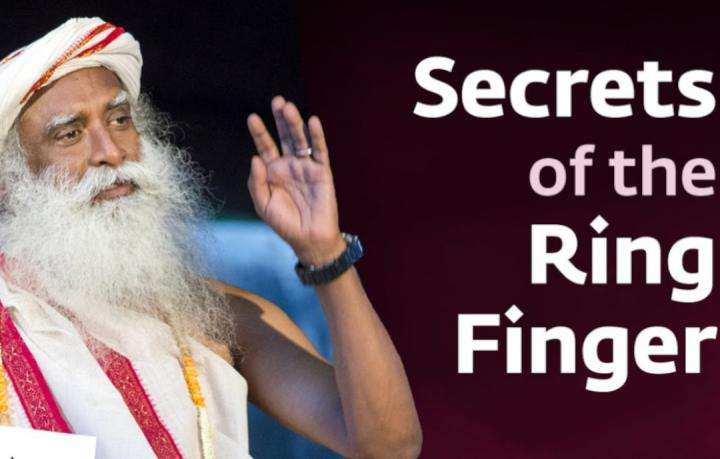 Sadhguru Wisdom Video | The Spiritual Significance of Ring Finger - Sadhguru