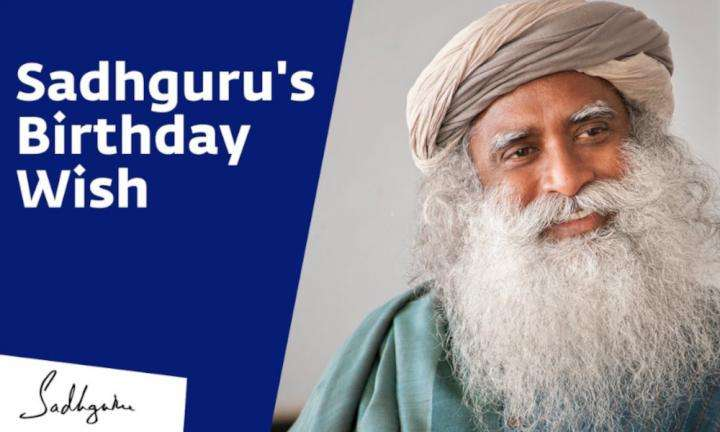 sadhguru wisdom video | What Does Sadhguru Want for His Birthday?