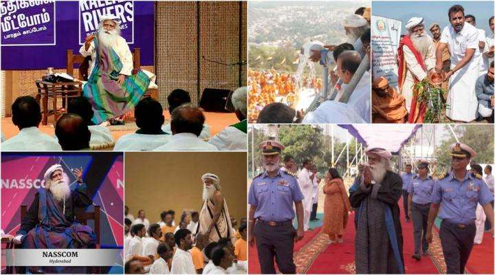 What's Sadhguru Been Upto in February - Find Out!