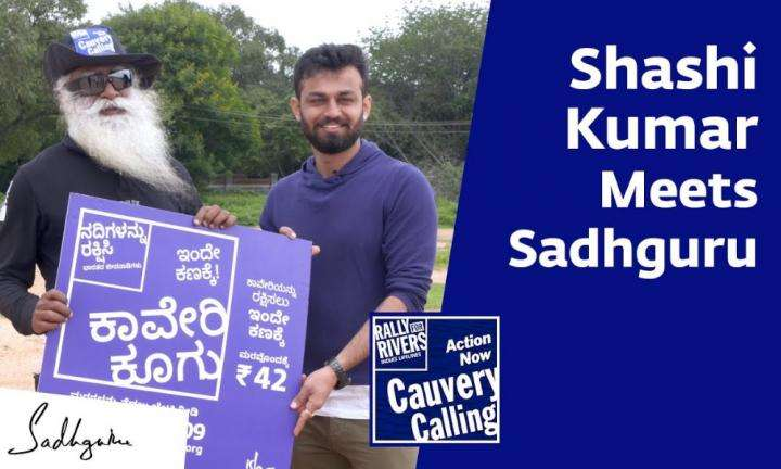 sadhguru wisdom video | Bigg Boss Kannada Winner Shashi Kumar with Sadhguru [Full Talk]