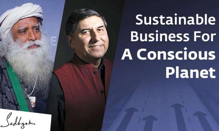 Sadhguru Wisdom Video | Working Together For A Conscious Planet: William Bissell of FabIndia with Sadhguru