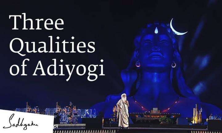 sadhguru's talk on mahashivratri on adiyogi