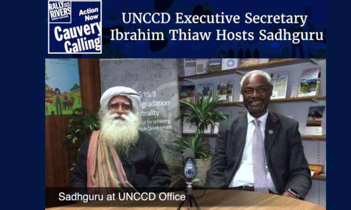 Sadhguru WIsdom Video | UN Under-Secretary-General Ibrahim Thiaw Hosts Sadhguru