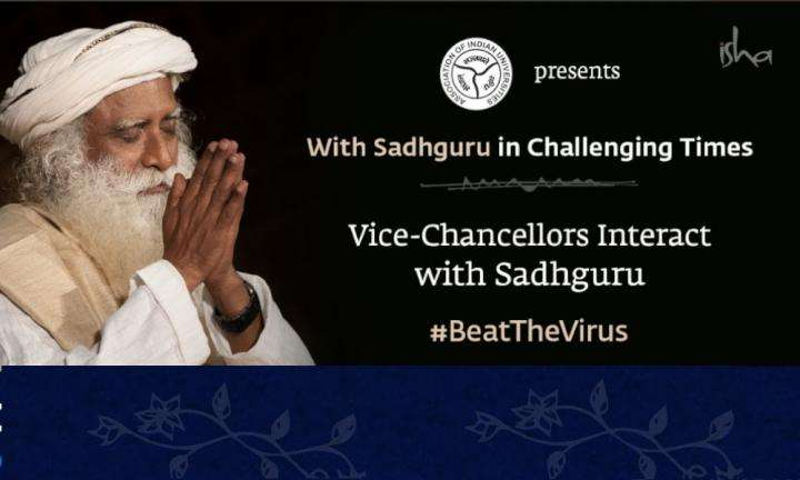 Indian Universities in Challenging Times Vice-Chancellors Interact with Sadhguru