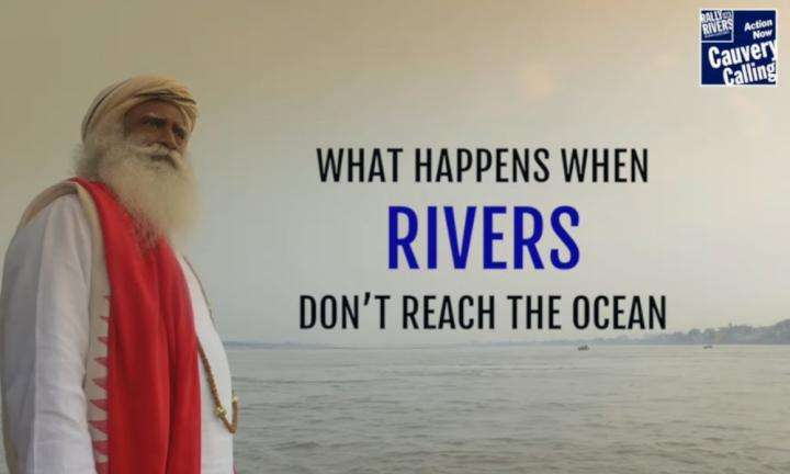 sadhguru wisdom video | what happens when rivers dont reach the ocean