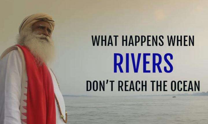 Sadhguru Wisdom Audio | What Happens When Rivers Don't Reach the Ocean – Sadhguru