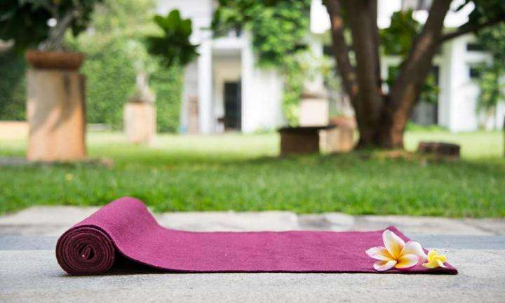 Cotton Yoga Mat from Isha Shoppe