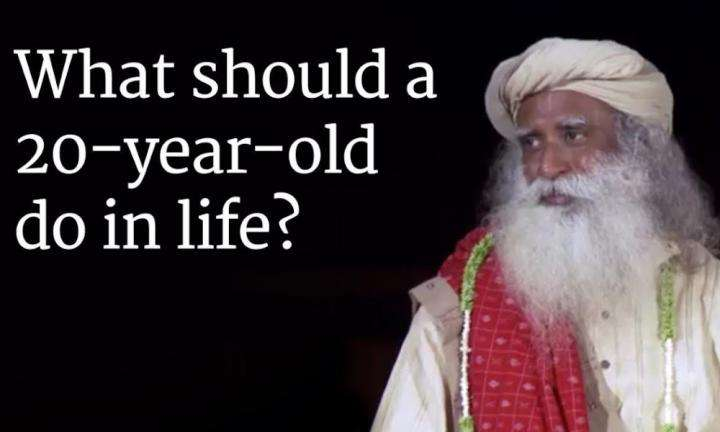 Sadhguru Wisdom Audio | What should a 20-year-old do in life? - Sadhguru Answers a Student