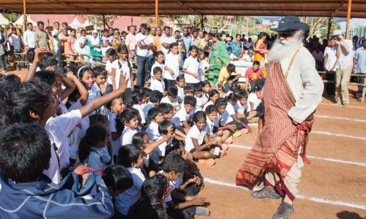 What's Sadhguru Been Up To in March - Find Out!