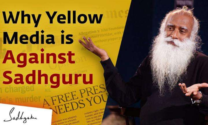 Sadhguru Wisdom Video | Why is a Certain Segment of Media Against Sadhguru?